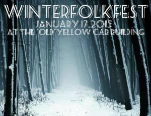 Winter Folk Fest poster
