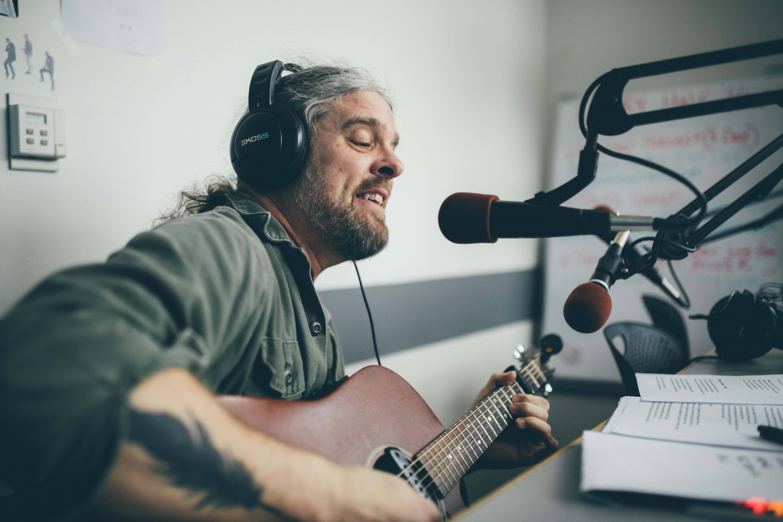 Tod Weidner playing the YTAA Studio!