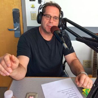 Steve Makofka in Studio