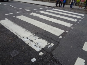 Abbey Road Studio Crosswalk