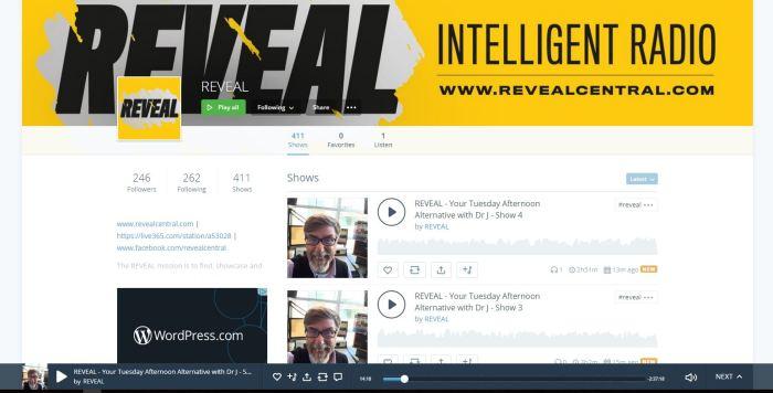 Reveal Mixcloud